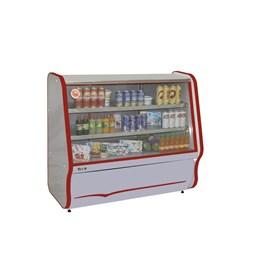 Balcão Refrigerado Inox - 127 V - Vermelho