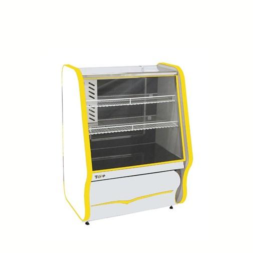 Balcão Refrigerado Para Tortas 220 V - Amarelo