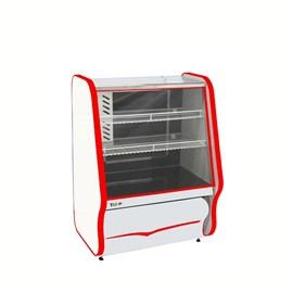 Balcão Refrigerado Para Tortas 220 V - Vermelho