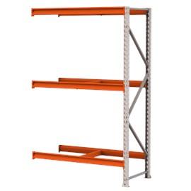 Mini Porta Pallet Módulo Continuação 1,80x60x2,0m P/500 Kg Sem Bandejas
