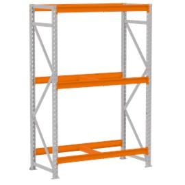 Mini Porta Pallet Módulo Inicial 1,80x80x2,0m P/500 Kg Sem Bandejas