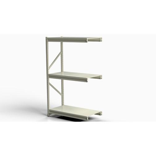 Mini Porta Pallet SLIM Módulo Continuação 1,20m P/200 KG COM BANDEJAS