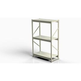 Mini Porta Pallet SLIM Módulo Inicial 1,20m P/200 KG COM BANDEJAS