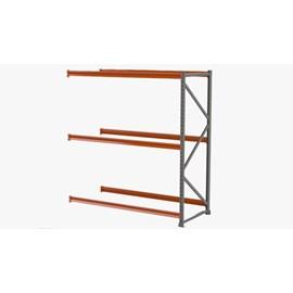 Porta Pallet Módulo Continuação 2,30x1,0x3,40  m P/1200 Kg - 3 Pares de Longarina