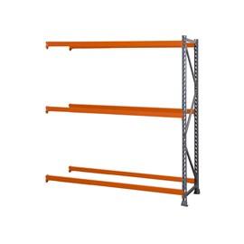 Porta Pallet Módulo Continuação 2,30x1,0x3,40 m P/2400 Kg - Com 3 Pares de Longarina